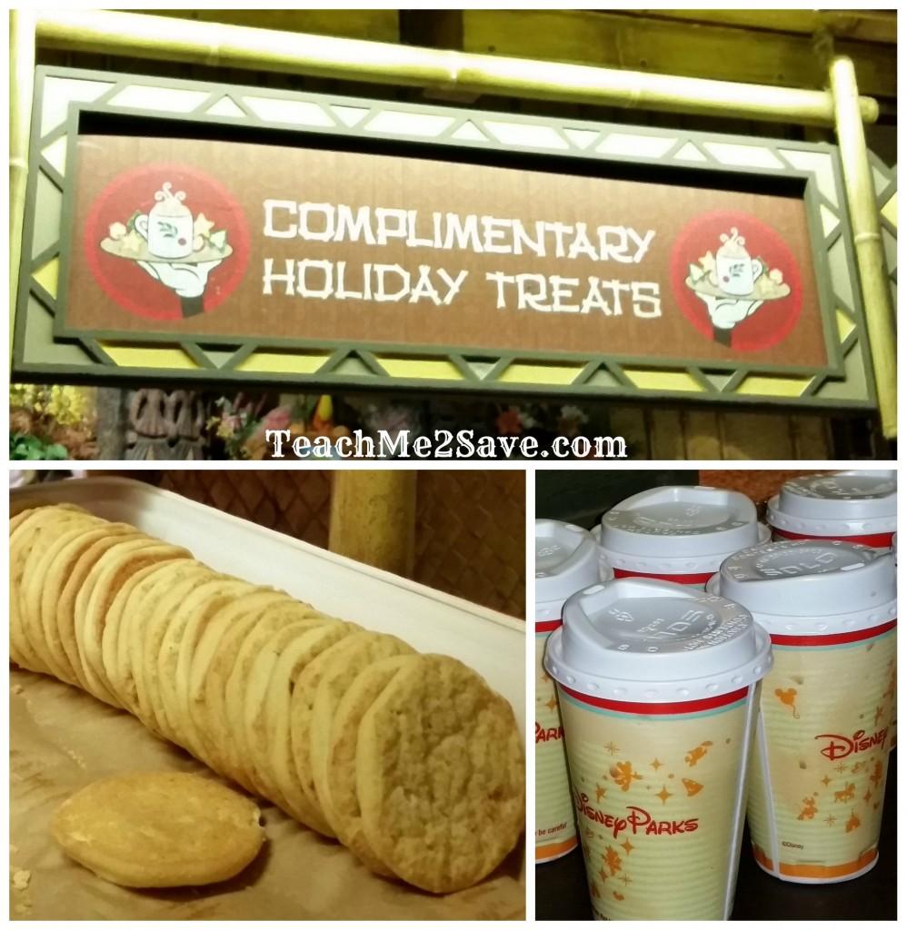 Mickey's Very Merry Party - free treats
