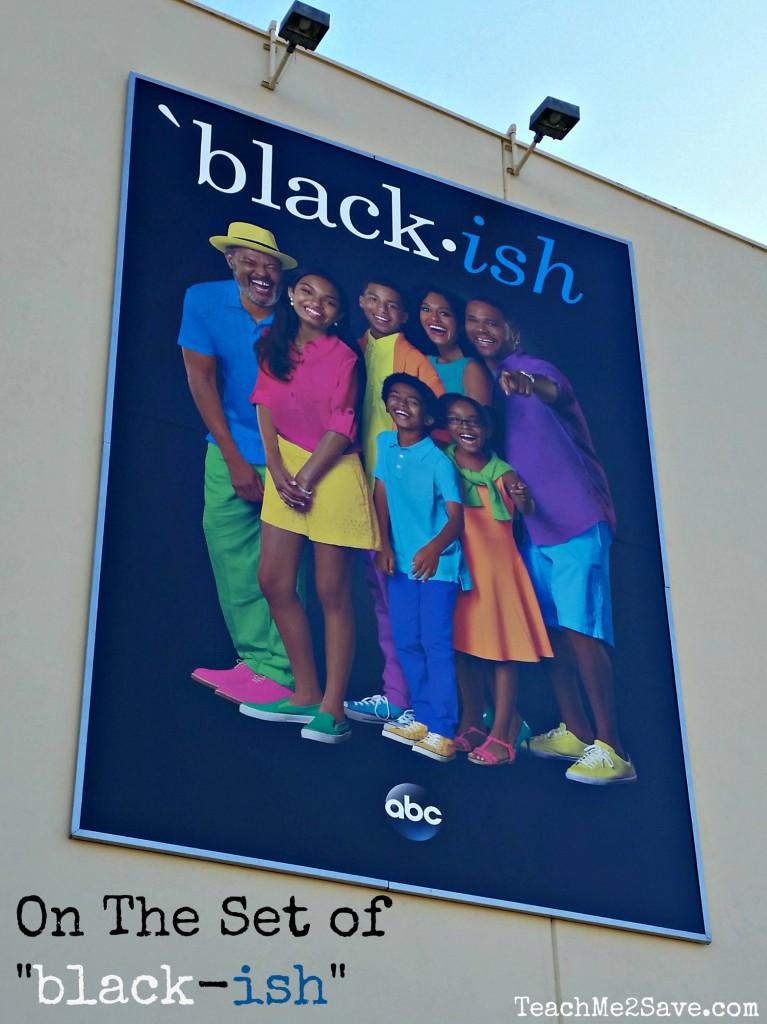 black-ish set visit - Leanette Fernandez