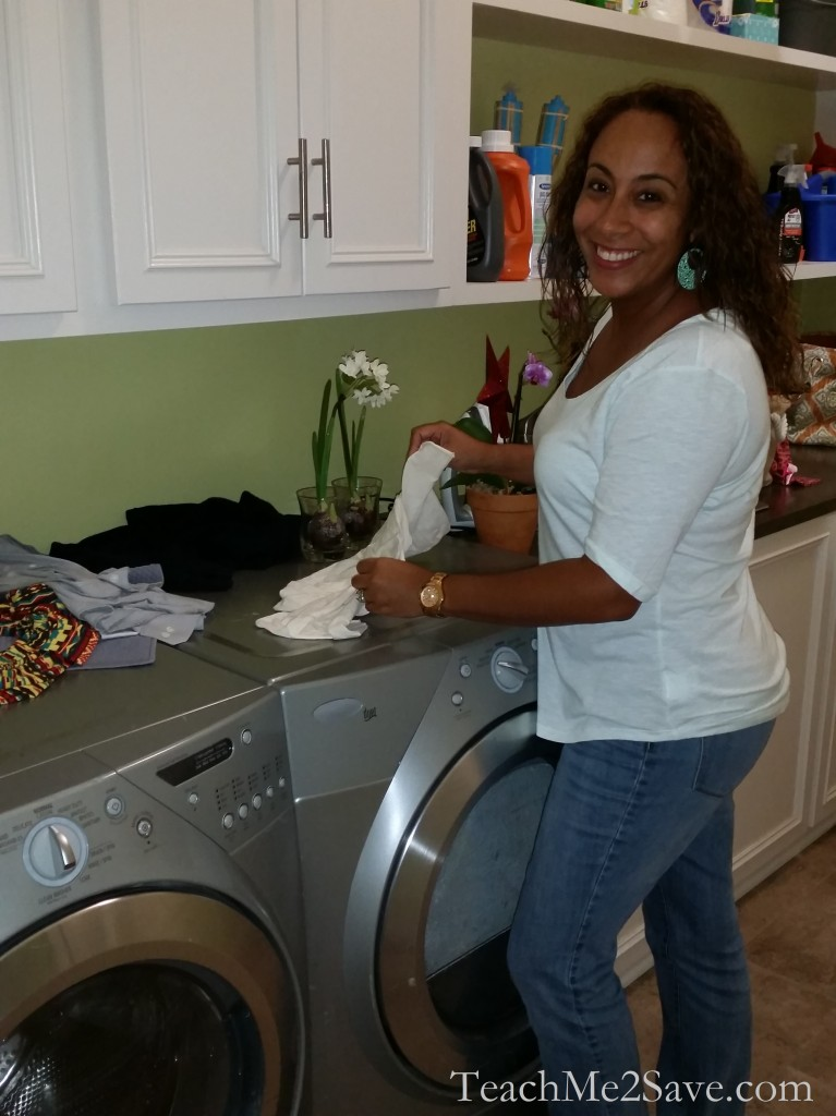black-ish set visit - laundry room