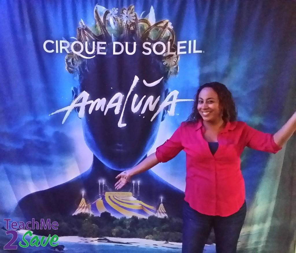 Leanette Fernandez at Amaluna