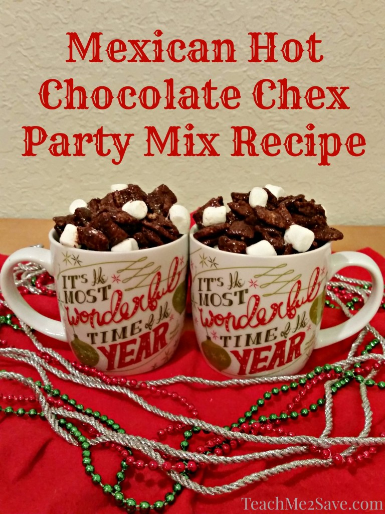 Mexican Hot Chocolate Chex Party Mix Recipe - TM2S