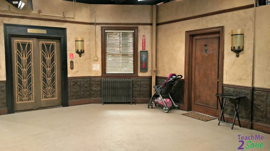Baby Daddy Set Apartment Lobby