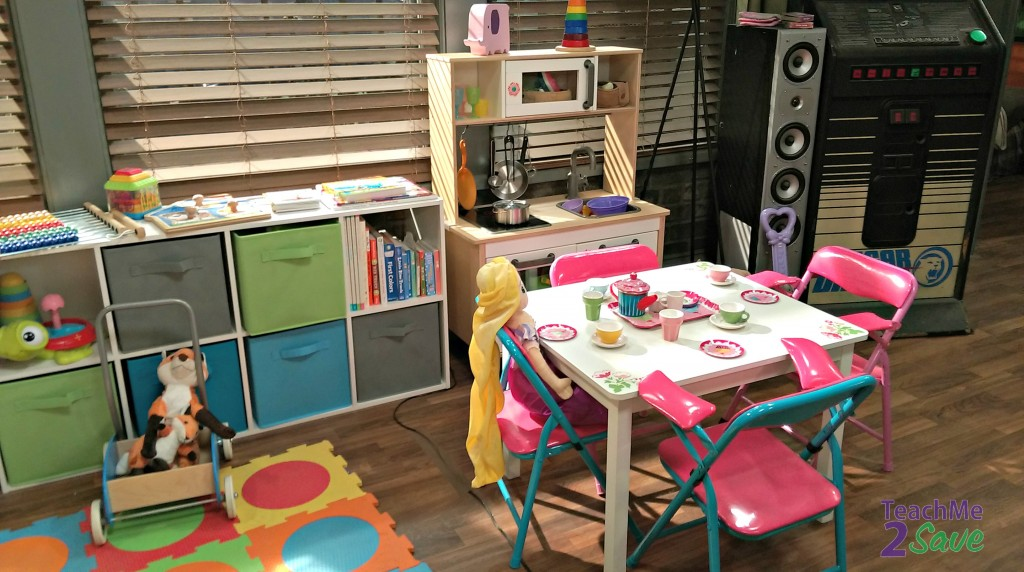 Baby Daddy Set Play Area