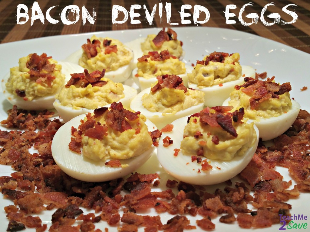 Bacon Deviled Eggs Recipe - TM2S