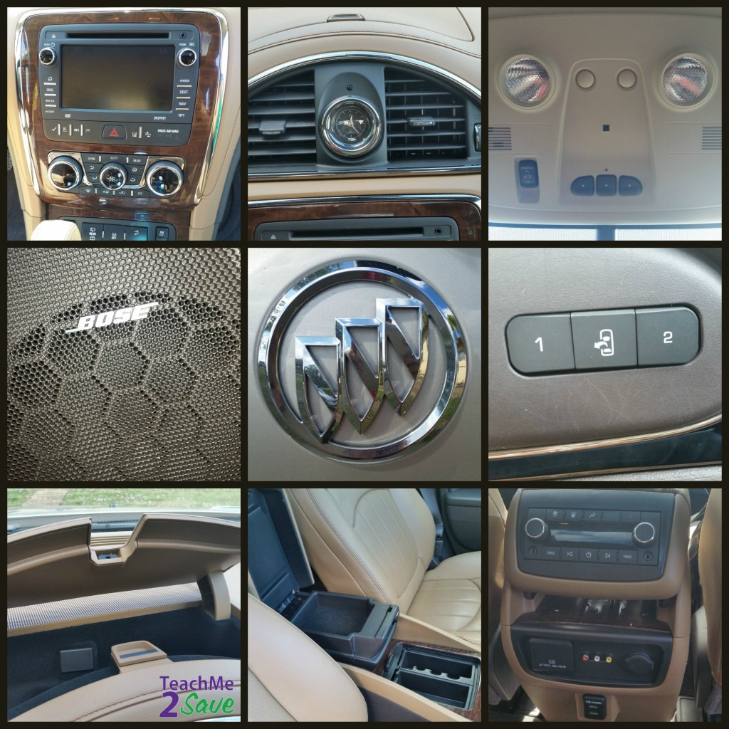 Buick Enclave Features Collage