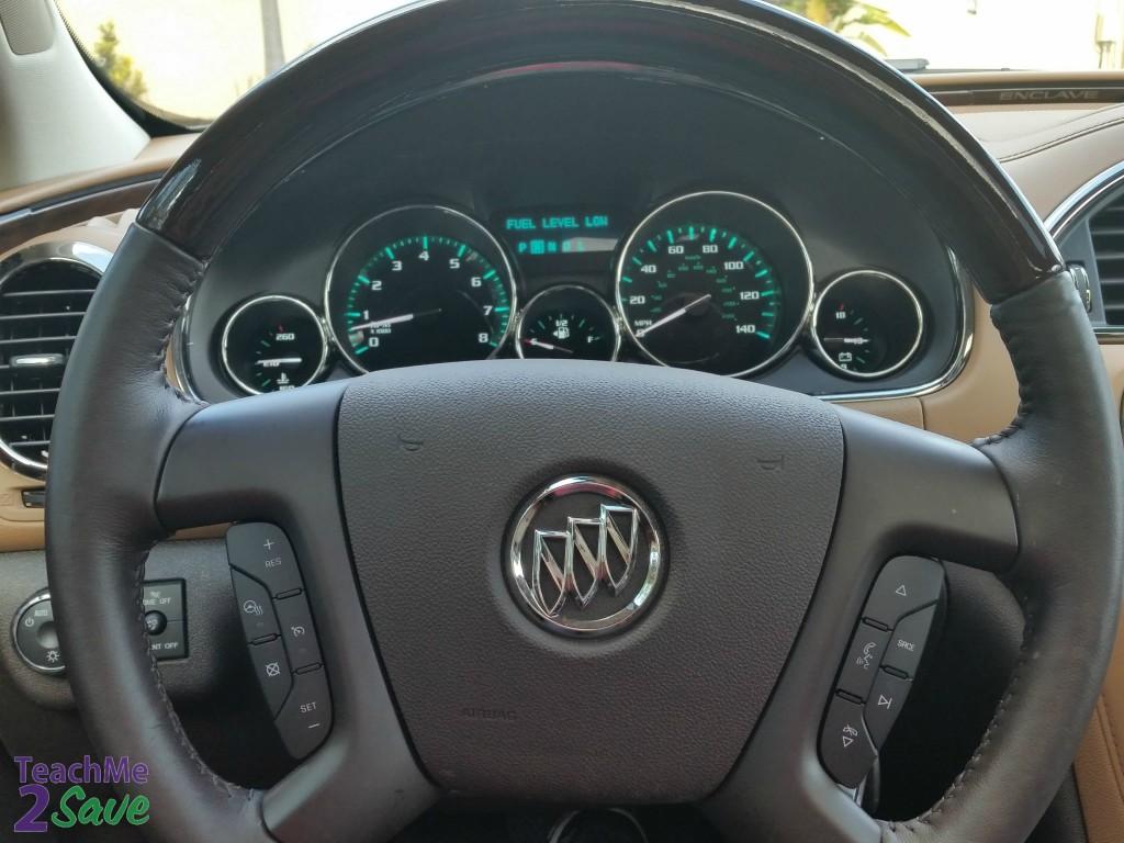 Buick Enclave Steering Wheel