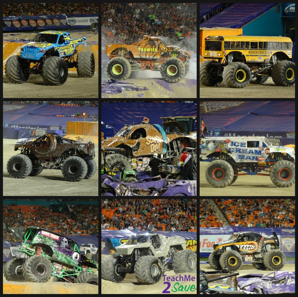 Monster Jam Trucks 2015 - TM2S