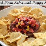 Black Bean Salsa with Poppy Seeds Recipe