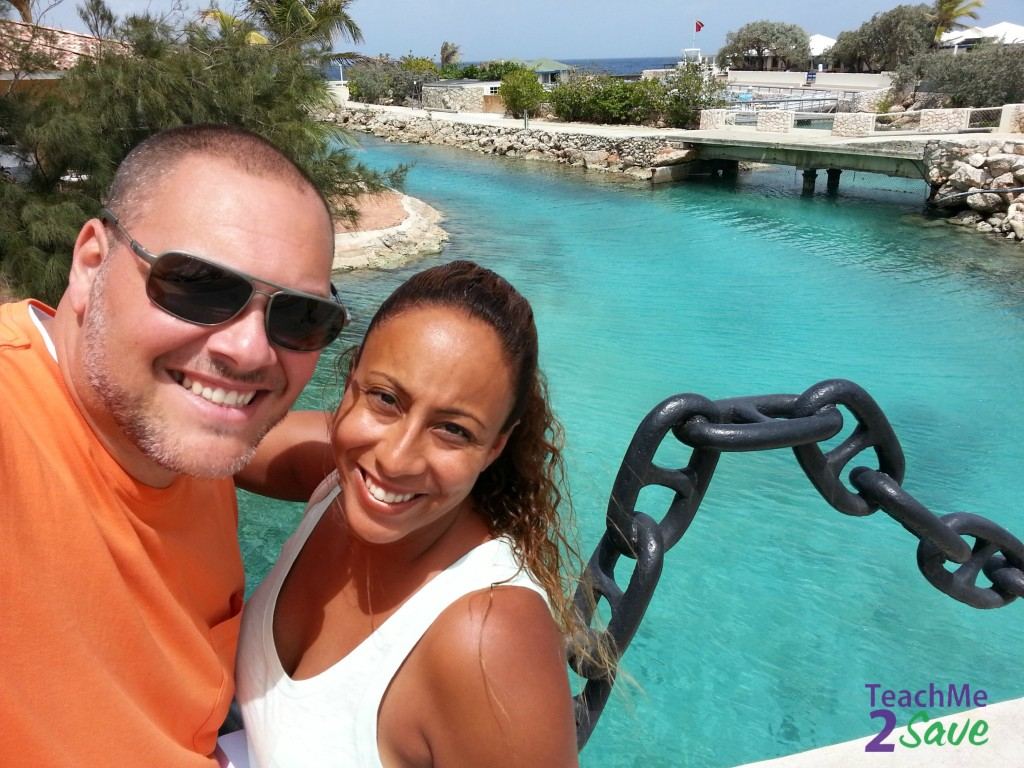 Curaçao Sea Aquarium Selfie