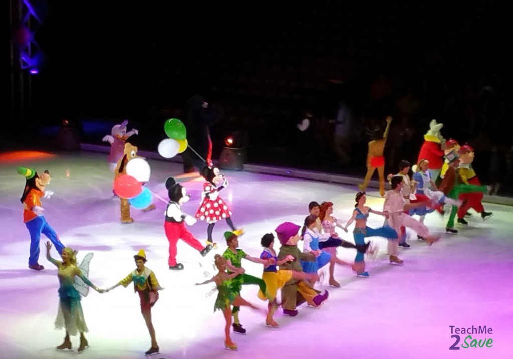 Disney On Ice Let's Celebrate Characters