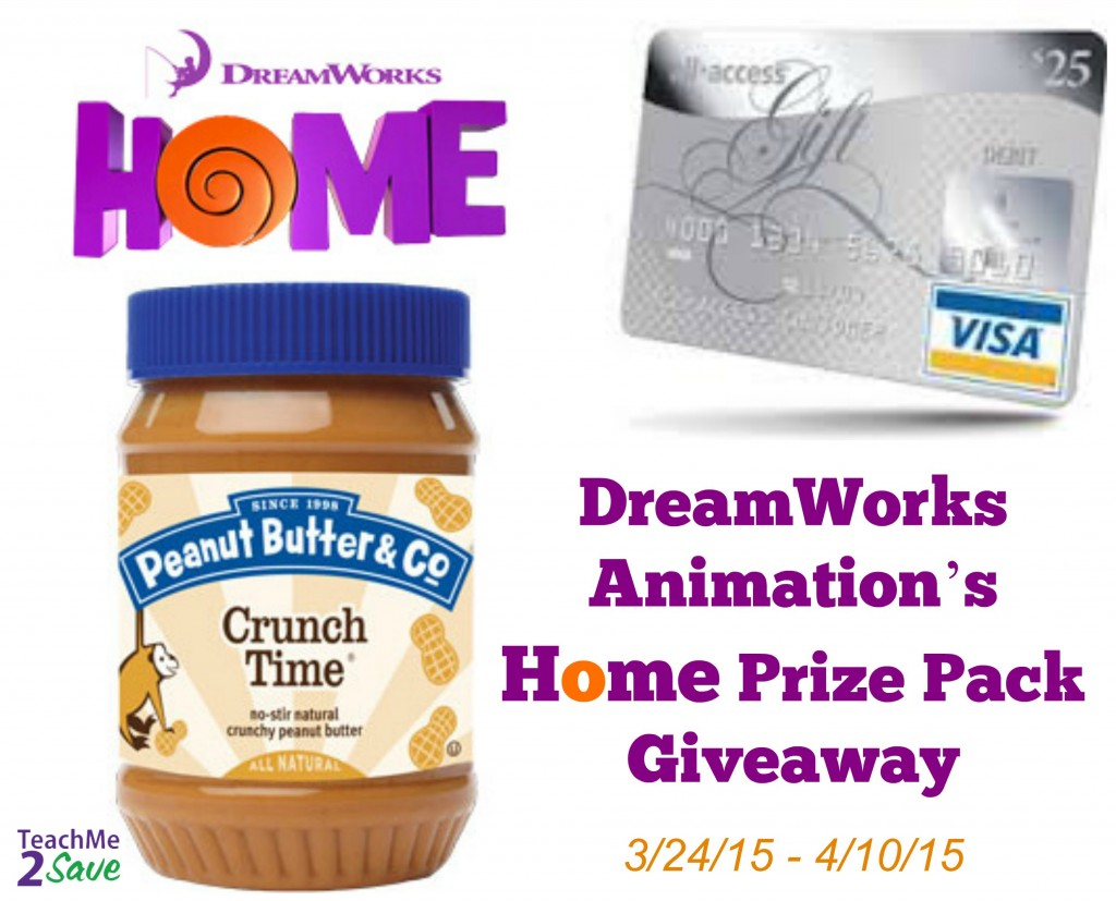 DreamWorks Animation's Home Prize Pack Giveaway