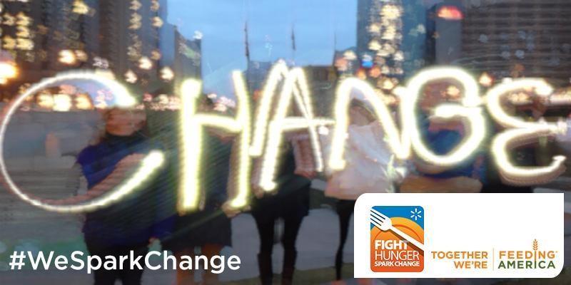 #WeSparkChange Banner