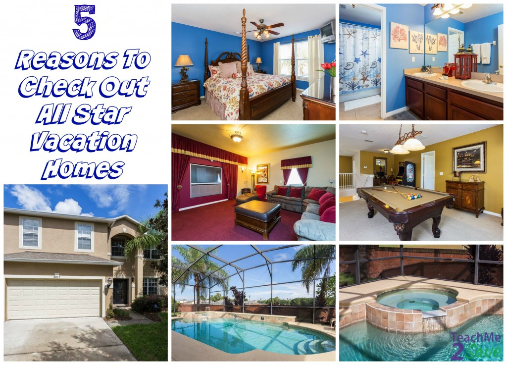 5 Reasons To Check Out All Star Vacation Homes