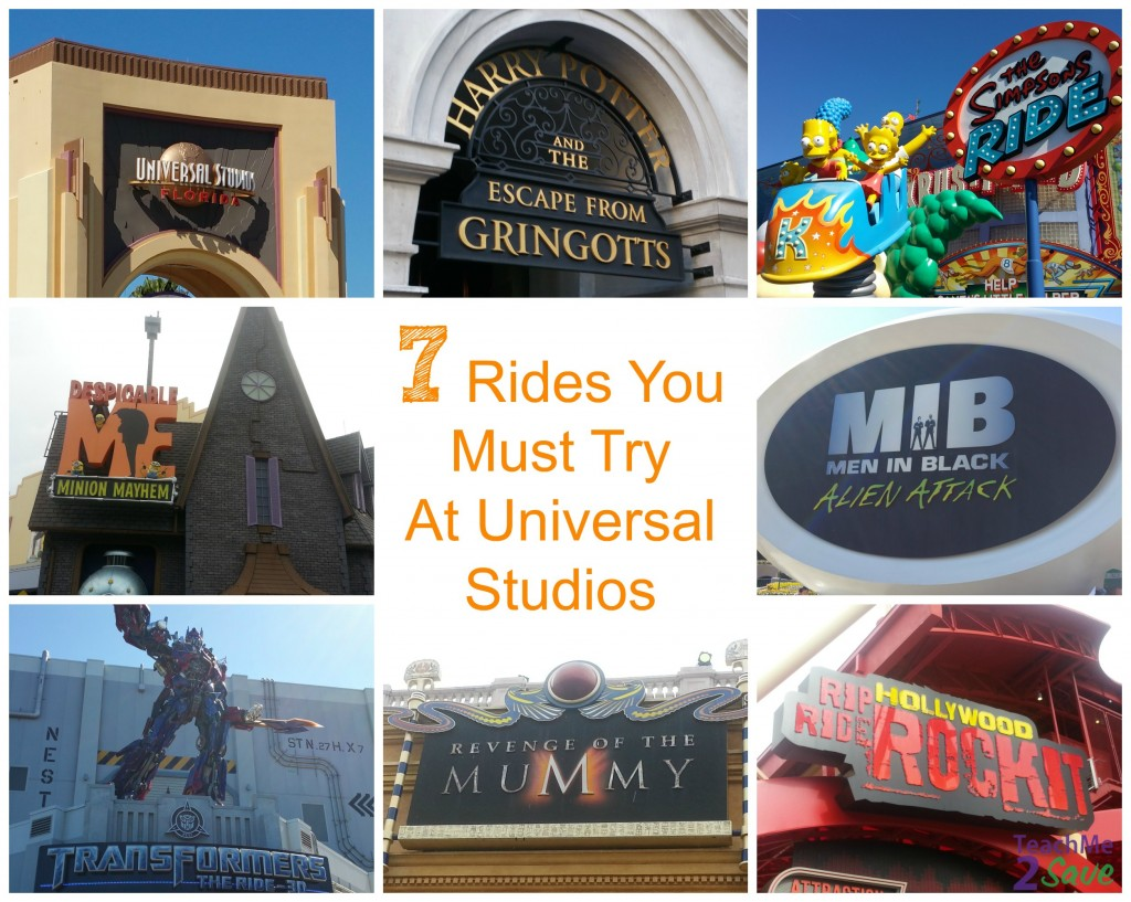 7 Rides You Must Try At Universal Studios - TM2S