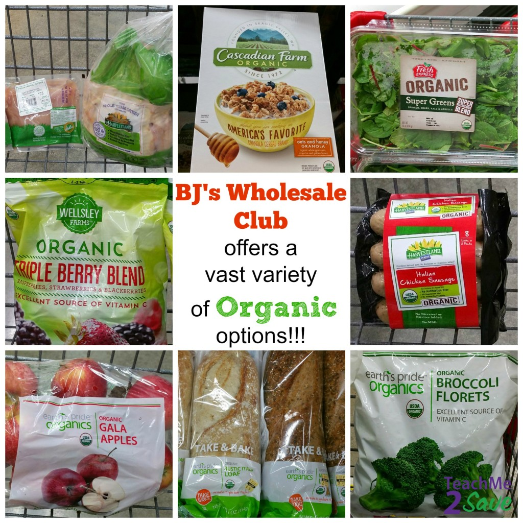 BJ's Wholesale Club Organic Products
