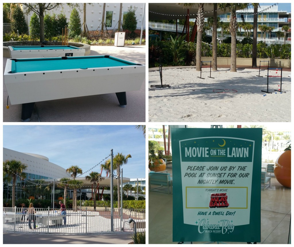 Cabana Bay Beach Resort Amenities Collage
