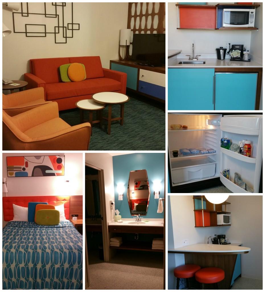 Cabana Bay Beach Resort Room Collage