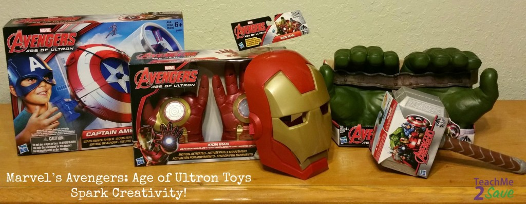 Marvel's Avengers Age of Ultron Toys Spark Creativity