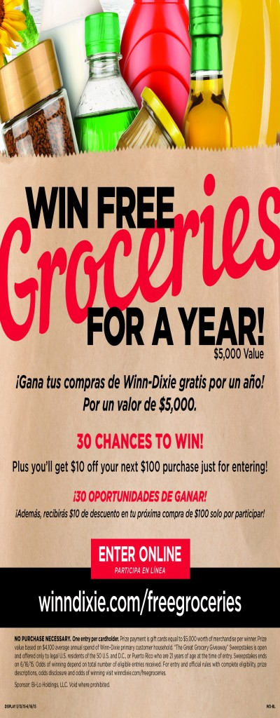 WD - Great Grocery Giveaway BL
