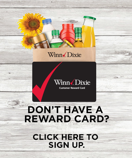 Winn Dixie Reward Card Sign Up