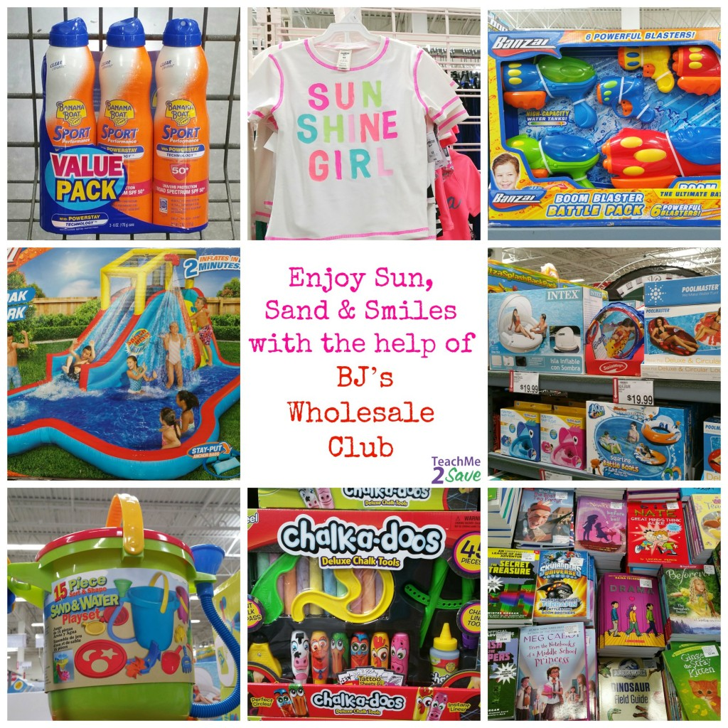 Enjoy Sun, Sand & Smiles With The Help Of BJ's Wholesale Club - TM2S