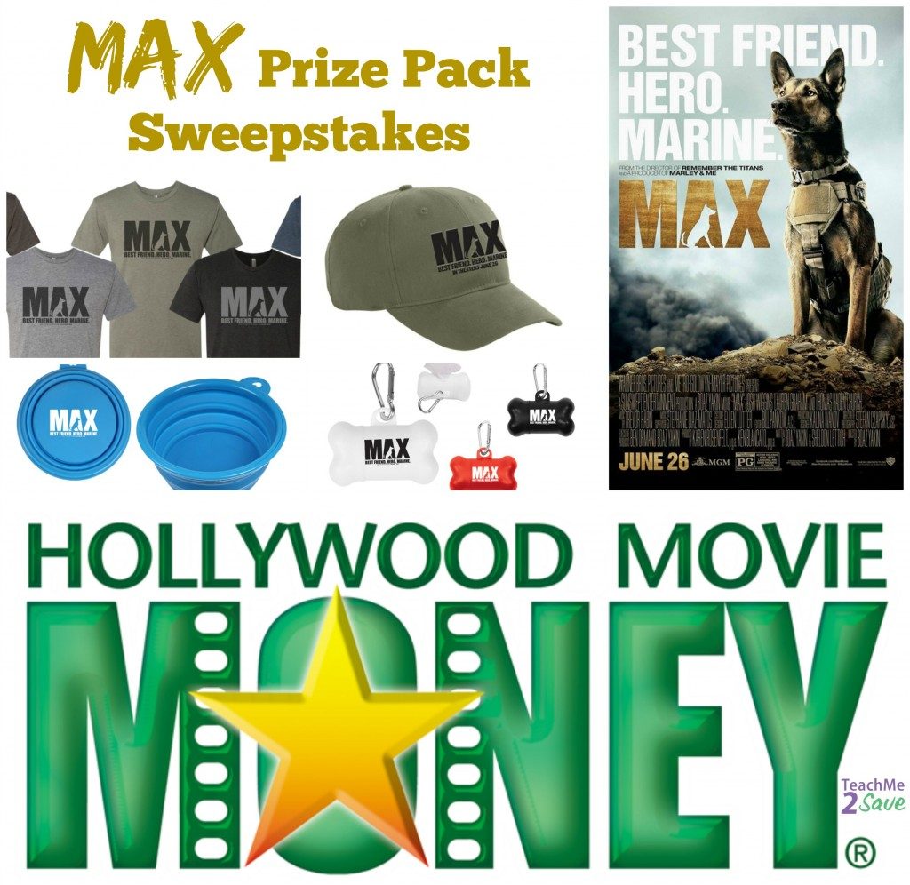 MAX Prize Pack Sweepstakes