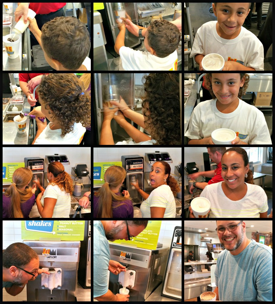 PDQ Milk Shakes Collage