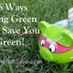 16 Ways Going Green Can Save You Green