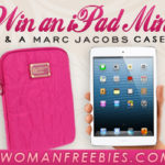 WomanFreebies.com: Win an iPad Mini + Marc Jacobs Case!