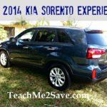 Our 2014 Kia Sorento Experience