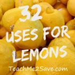 32 Uses for Lemons