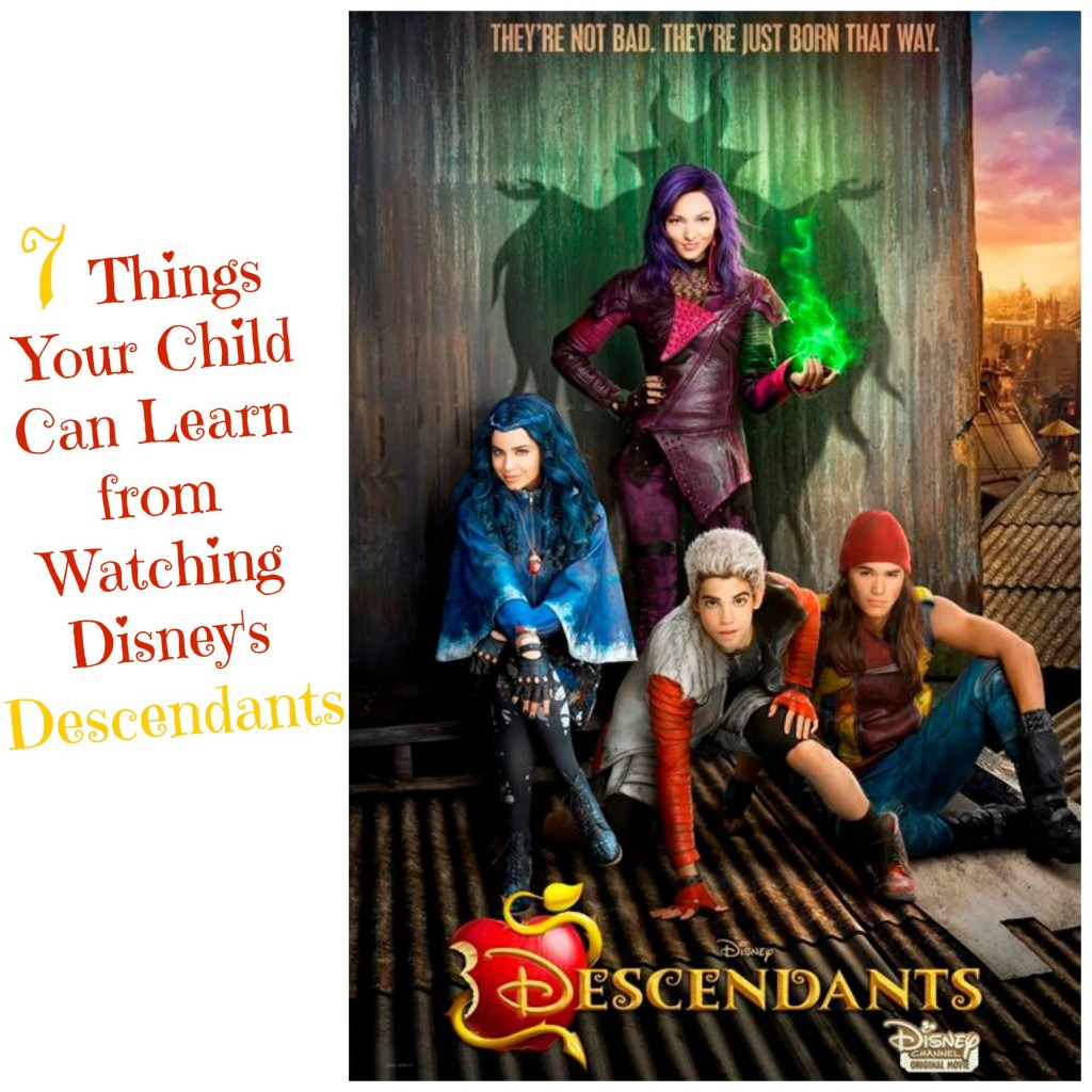 7 Things Your Child Can Learn from Watching Disney's Descendants