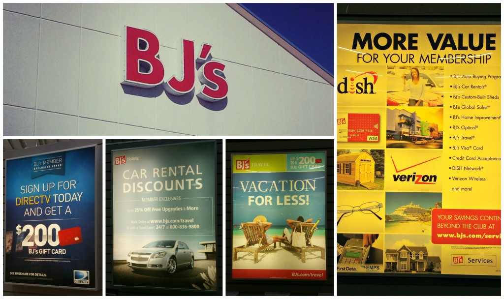 BJ's Wholesale Club Benefits Extend Beyond the Club Collage