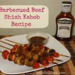 Barbecued Beef Shish Kabob Recipe