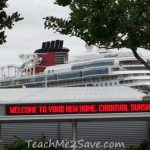 The Carnival Sunshine Now Sails from Port Canaveral