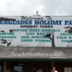 Everglades Holiday Park (Home of the Gator Boys) Offers Airboat rides, an Alligator Show, Camping, Boat Rentals & More