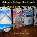 Febreze Brings the Scents of Spring Into Your Home