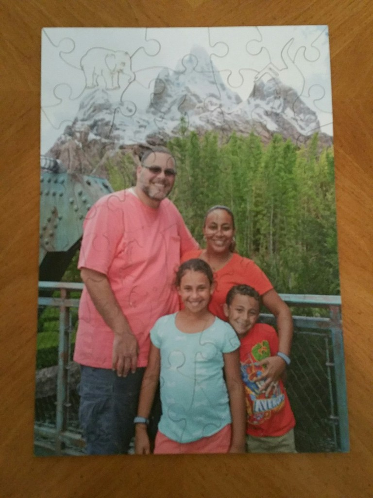 Fernandez Family Personalized Wentworth Wooden Puzzle