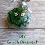 DIY: Grinch Ornament