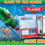 Disney's Planes Race to the Finish Activities!