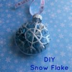 DIY: Snowflake Ornament