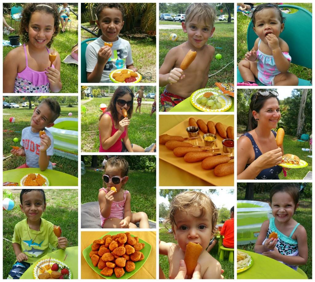 Summer Bash Eating Food REV