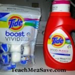 Tide Vivid White + Bright and Boost Pack Giveaway #fabulouswhite