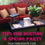 Tips for Hosting A Spring Party and Fisher Nut Exactly Prize Pack Giveaway
