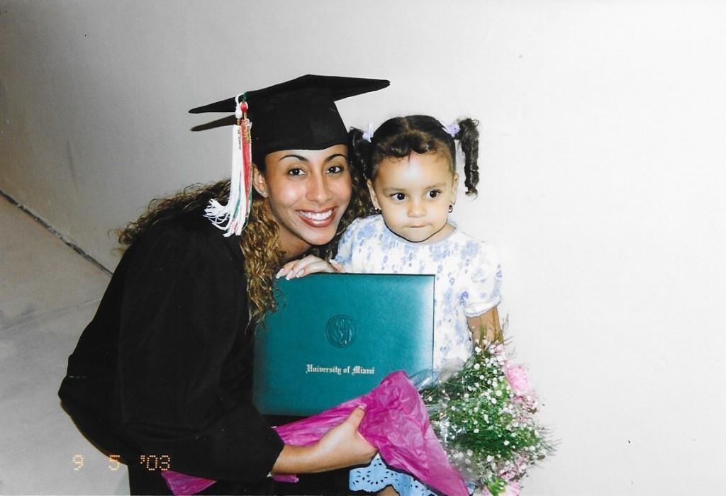 UM Grad pic with Ari