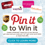 UPS Pin It To Win It Contest