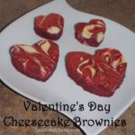 Valentine's Day Cheesecake Brownies Recipe