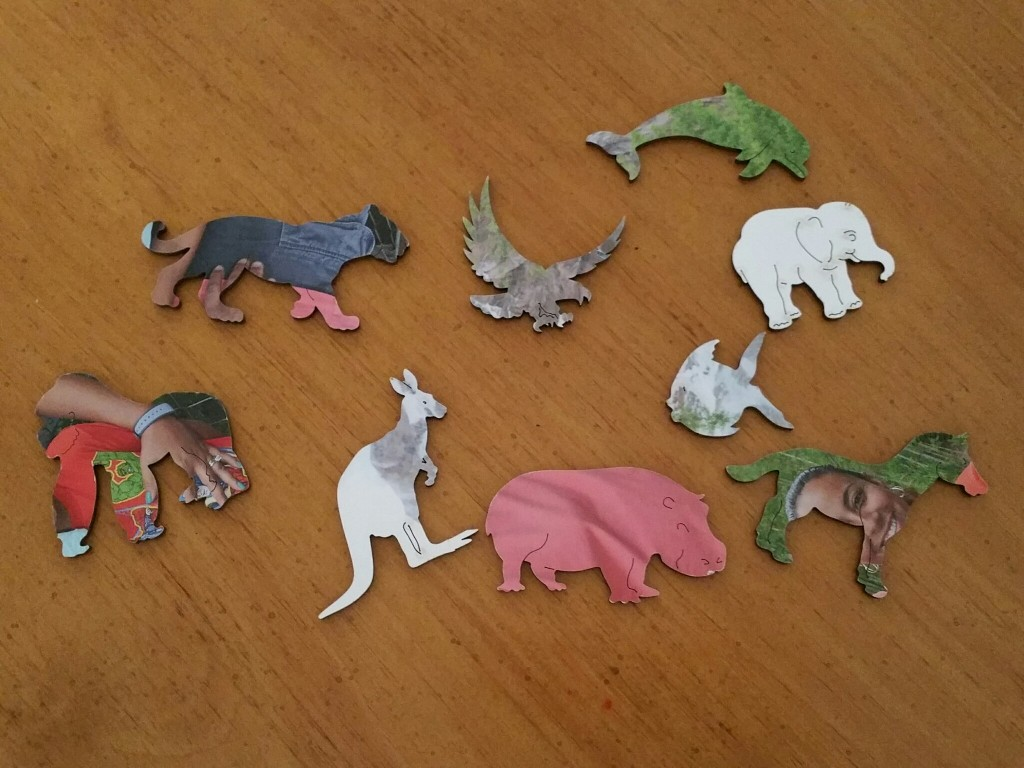 Wentworth Wooden Puzzle Animal Pieces