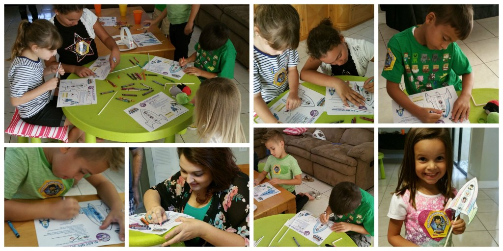 Disney Junior Miles from Tomorrowland Party Blast Off Spaceships