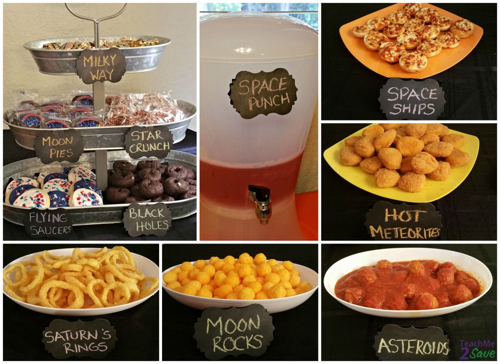 Disney Junior Miles from Tomorrowland Party Food - TM2S